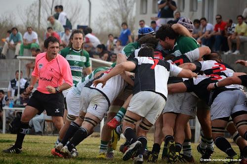 Santiago Altobelli, referee de la Unión de Rugby de Tucumán.