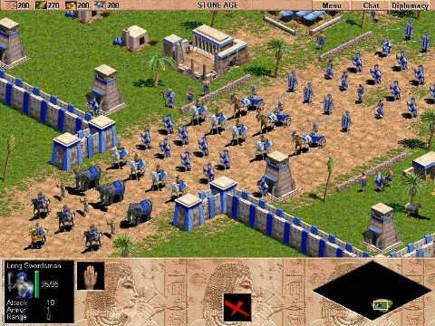 Prajurit Perang Age Of Empire