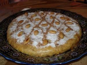 طريقة تحضير البسطيلة المغربية بالدجاج واللوز