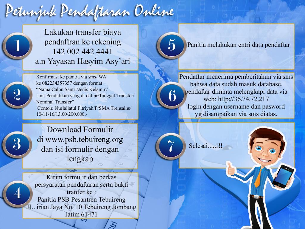 Alur Daftar Online