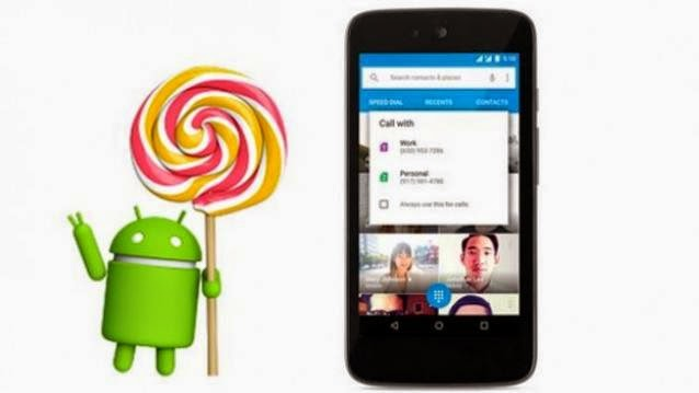 Android,lollipop update 5.1