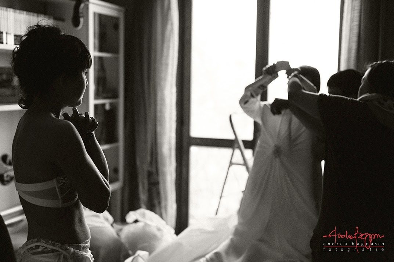 preparazione sposa matrimonio Langhe