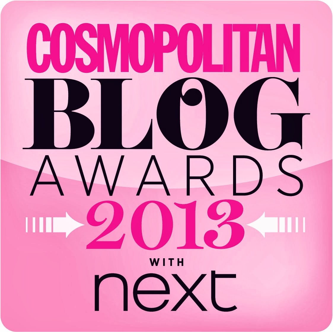 Everything's Rosie was shortlisted for Best New Beauty Blog in the Cosmopolitan Blog Awards