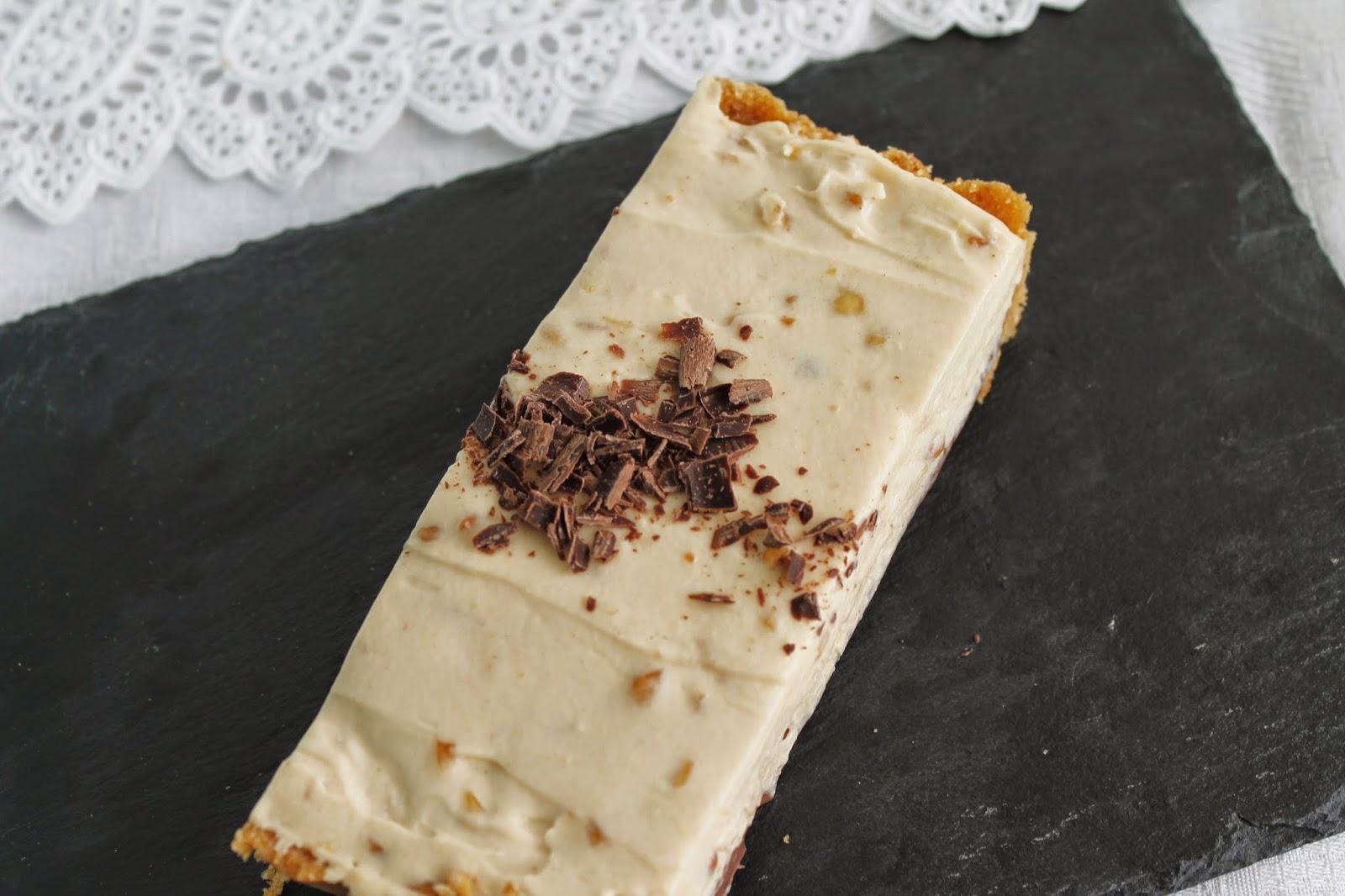 Receta Tarta de crema de cacahuete
