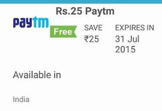 Ringr App Paytm Cash 25rs free