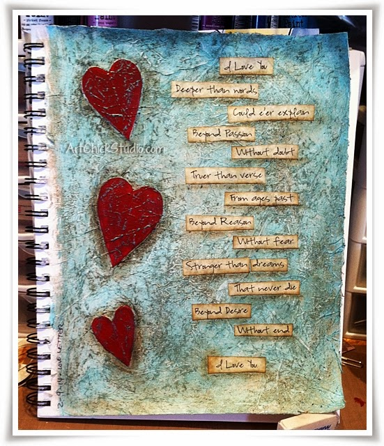 Love Letter Art Journal