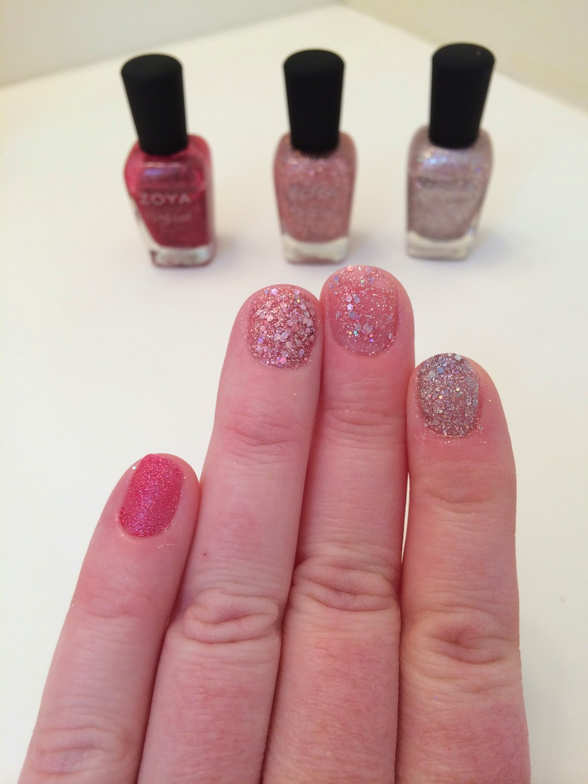 The Manic Painteress: Dupe Check: Zoya Ginni and Zoya Bar against ...