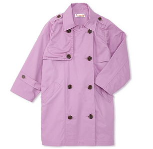 MyHabit: Up to 70% off Hippototamus Girls: Trench Coat with Nylon Ripstop Back Panel