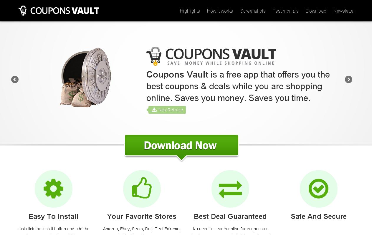Coupons Vault