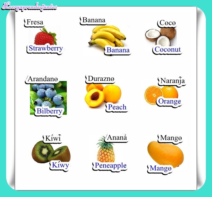 Fruta por la j - Imagui