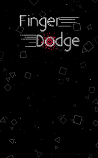 Screenshots of the Finger dodge for Android tablet, phone.