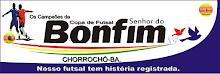 Os Campeões da Copa Senhor do Bonfim de futsal.