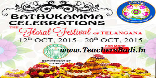 Bathukamma Festival Programme, Action Plan, Instructions
