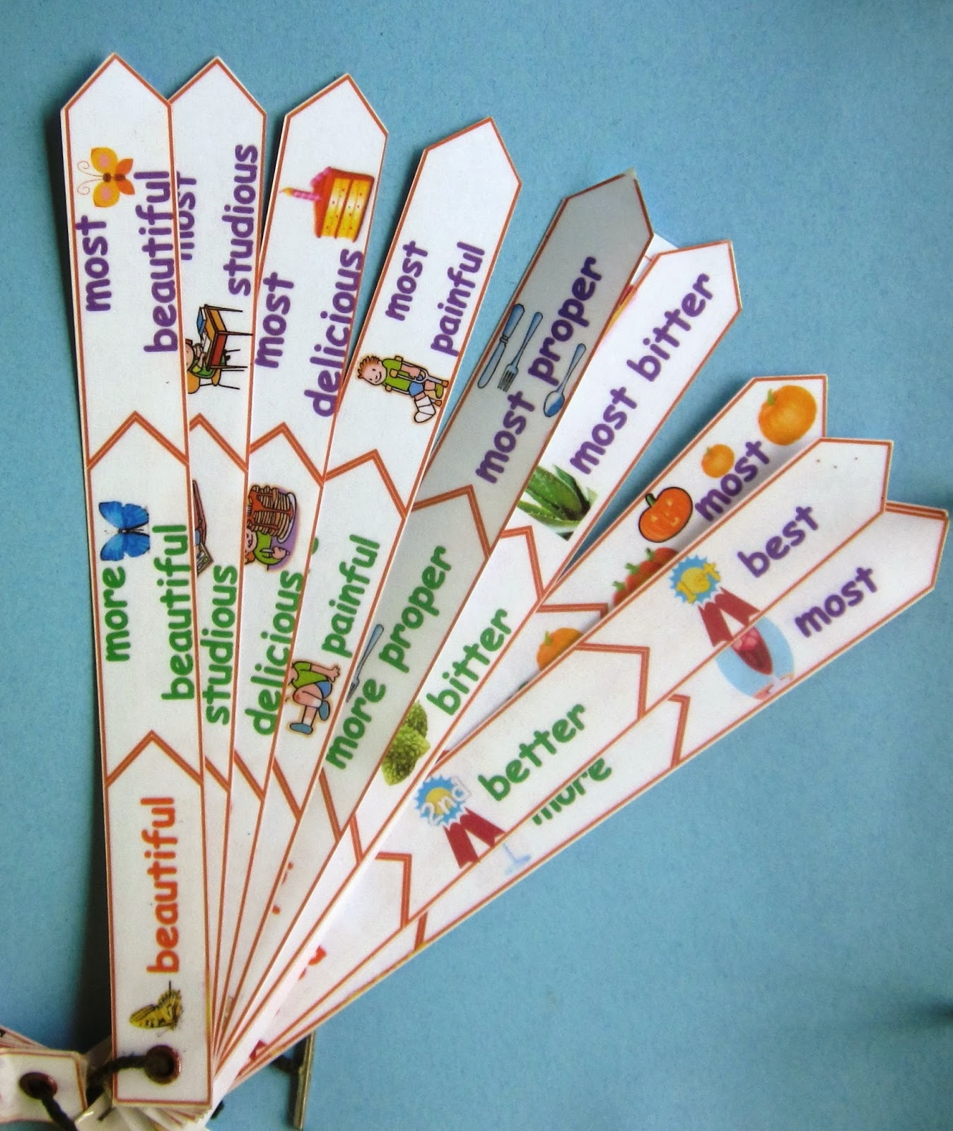 Adjective Activities Tiered For on April Bulletin Board Ideas
