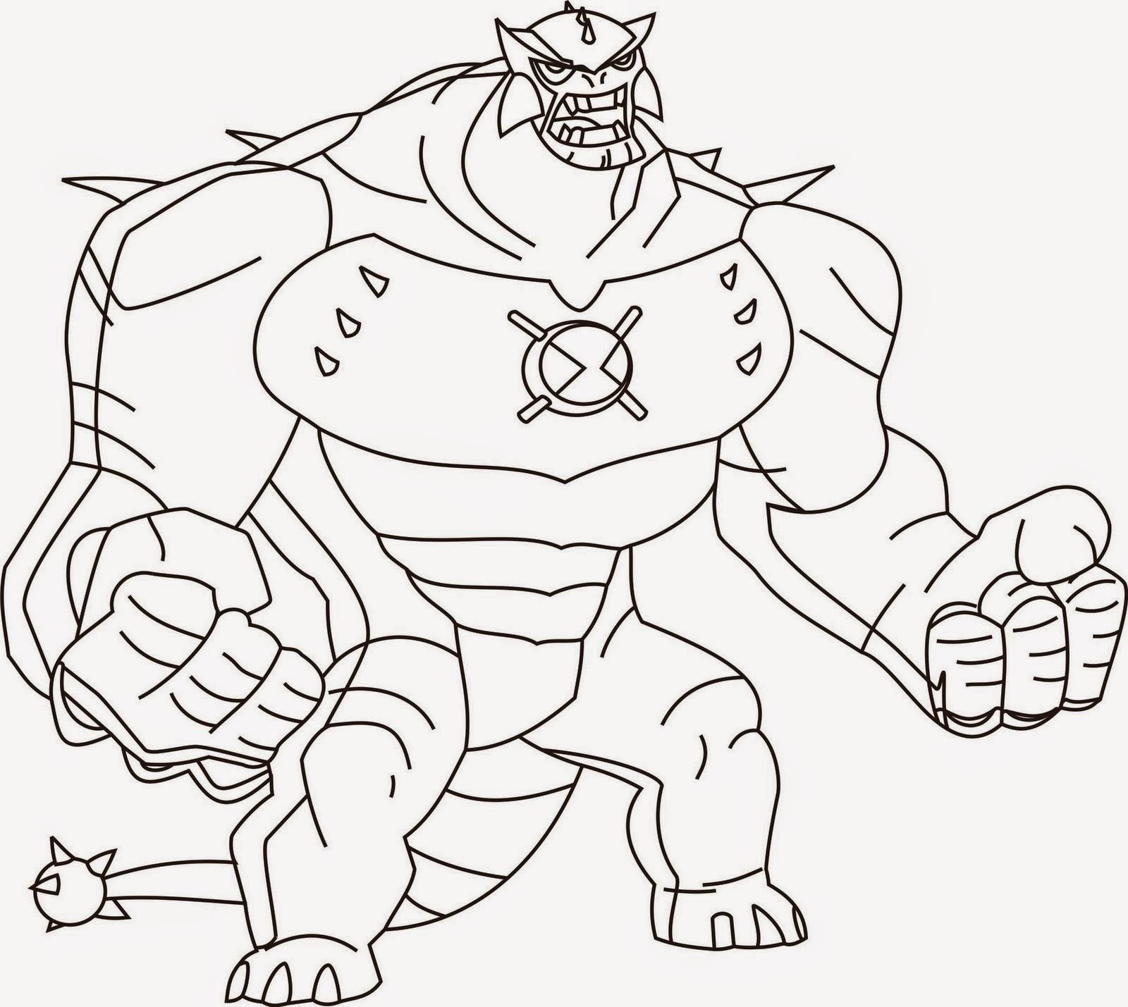 Ben 10 Coloring Drawing Free wallpaper
