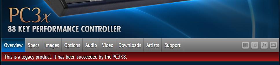 Página PC3X