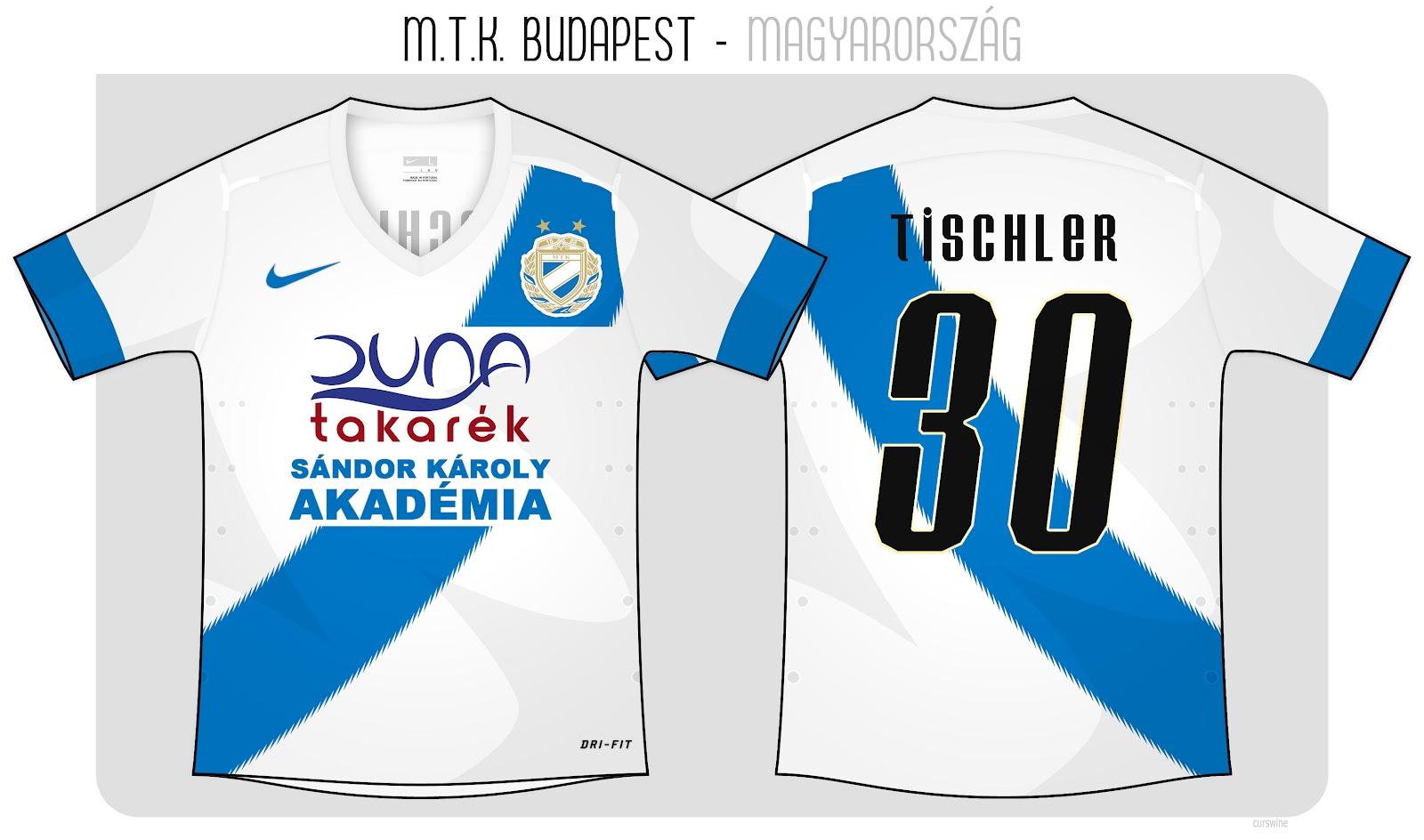 Kits Trikot Camisas Maillot  MTK Budapest FC 7cd32e083b973