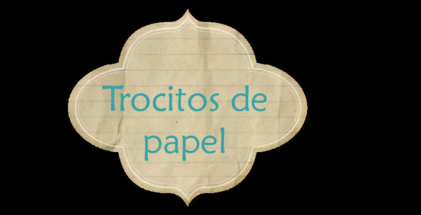 Trocitos de papel