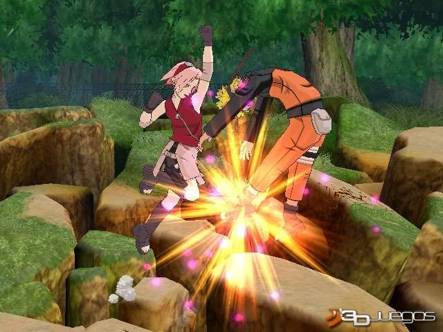Naruto Shippuden Clash of Ninja Revolution 3 2011 PC Full Español ISO DVD5 Descargar