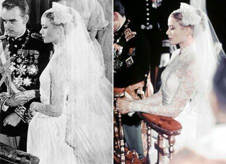 Най-красивата булчинска рокля на всички времена - роклята на Грейс Кели