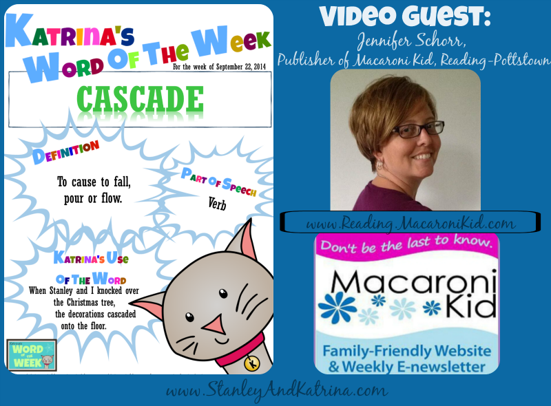 Jennifer Schorr introduces the Word of the Week: Cascade
