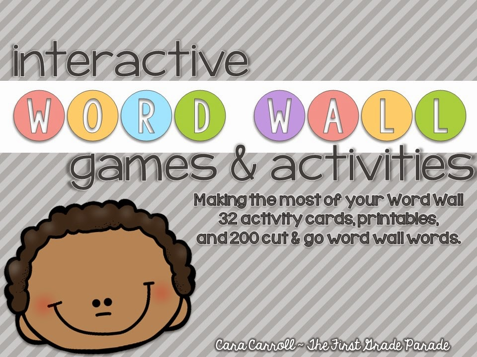 Word Wall Games & Activities