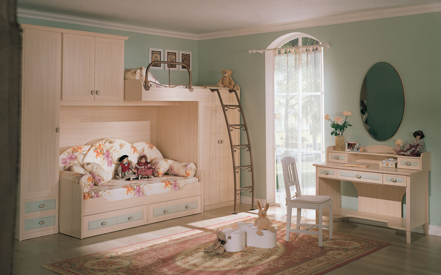 kid's rooms from russian maker | sweet home