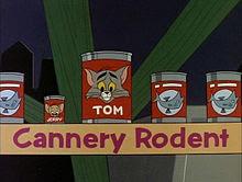Juego de palabras con Tom y Jerry