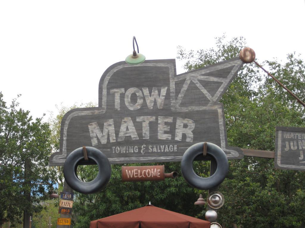 Tow Mater\'s Junkyard Jamboree - Tips from the Disney Divas and Devos