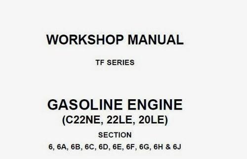 Manual Taller MOTOR-C22NE - Luv