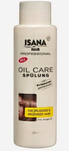 Isana Professional - odżywka do włosów łamliwych i rozdwajających się z olejem arganowym