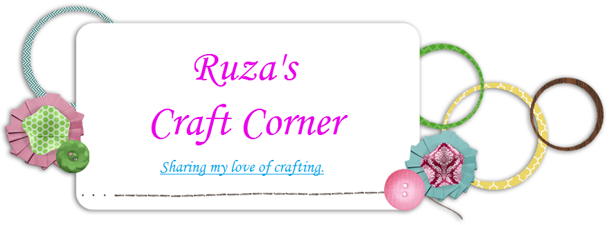 Ruza&#39;s Craft Corner