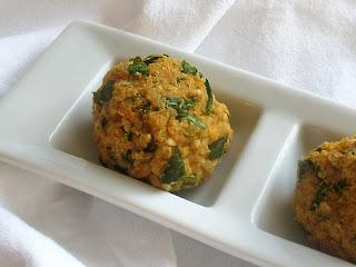 Baked Quinoa Falafel Bites