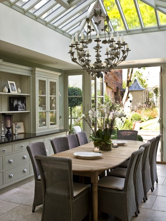Outdoor Living { The Conservatory room } - shabby&countrylife.blogspot.it