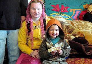 World Youngest Grandmother in Romania