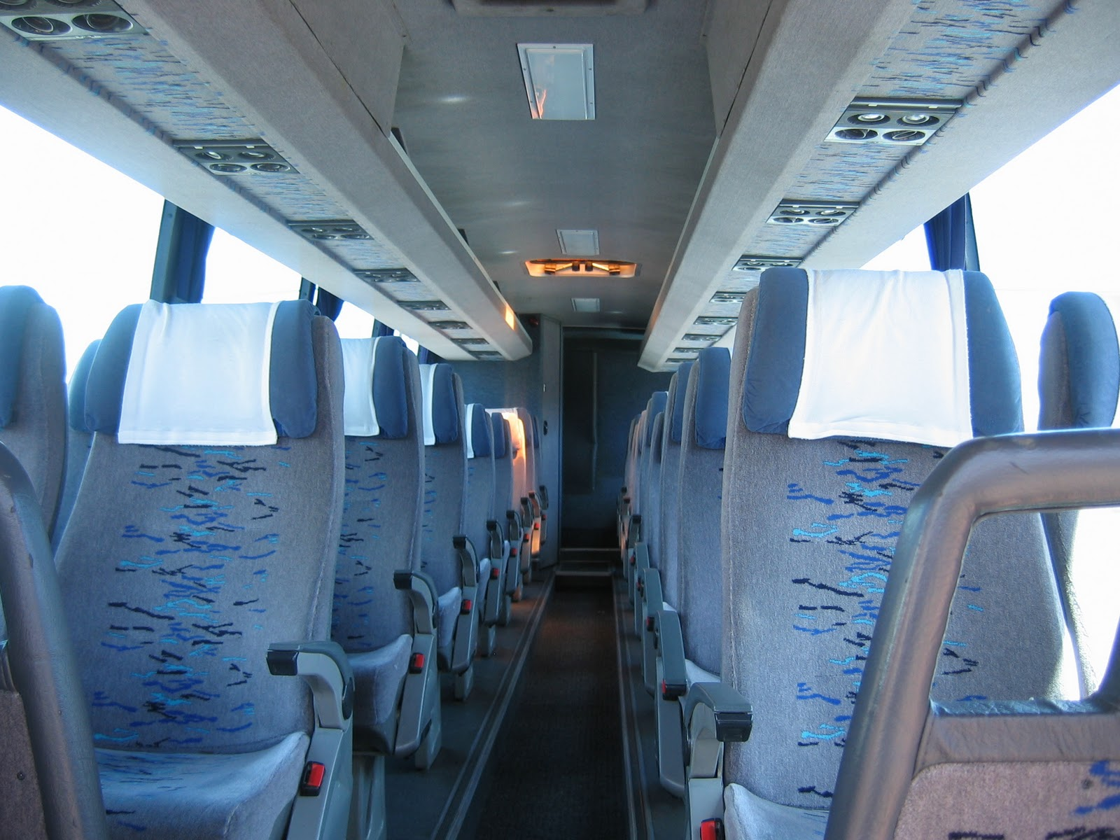 Volvo luxury bus interior - 44 48 Seater Luxury Bus Hire Coach Features