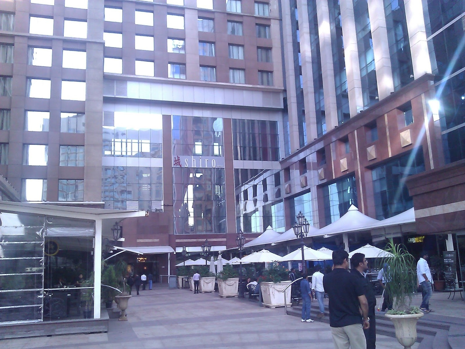 Another View Of The Ub City Food Plaza