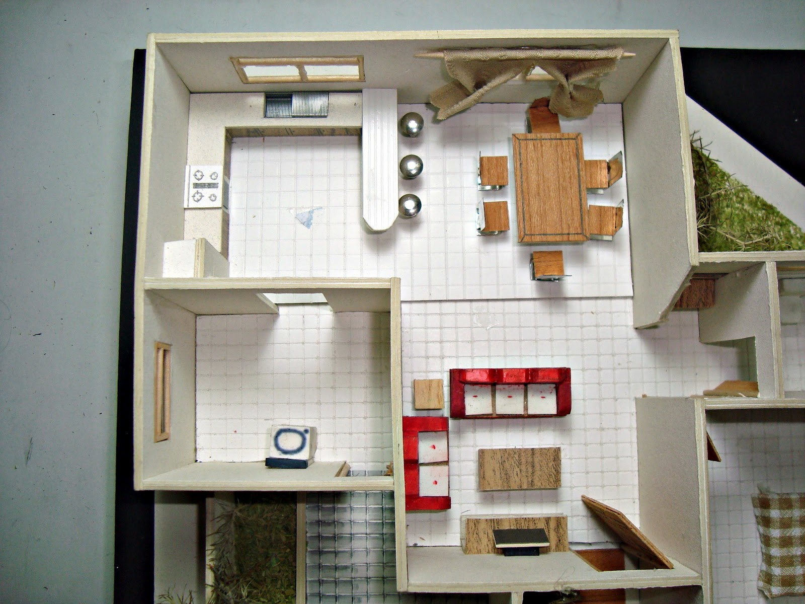 Portafolio dise o arquitect nico modelos arquitectonicos 1 for Planos de cocina y lavanderia