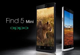 Harga Oppo Find 5 Mini, Desain Elegan RAM 1 GB