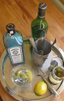Zubereitung Dry Martini