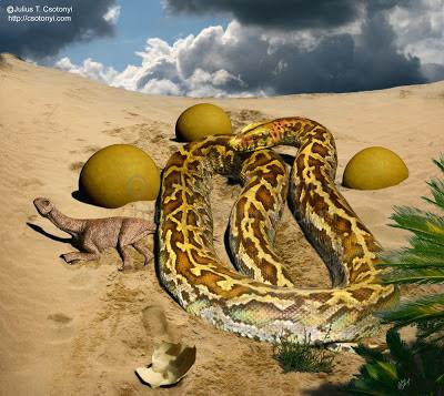 Sanajeh prehistoric snake