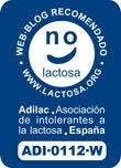1º blog en ser otorgado el sello de web recomendada por la Asociación Española de Intolerantes a la Lactosa (ADILAC)