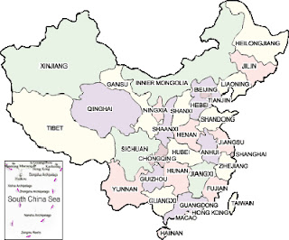 Inventive image pertaining to printable map of china