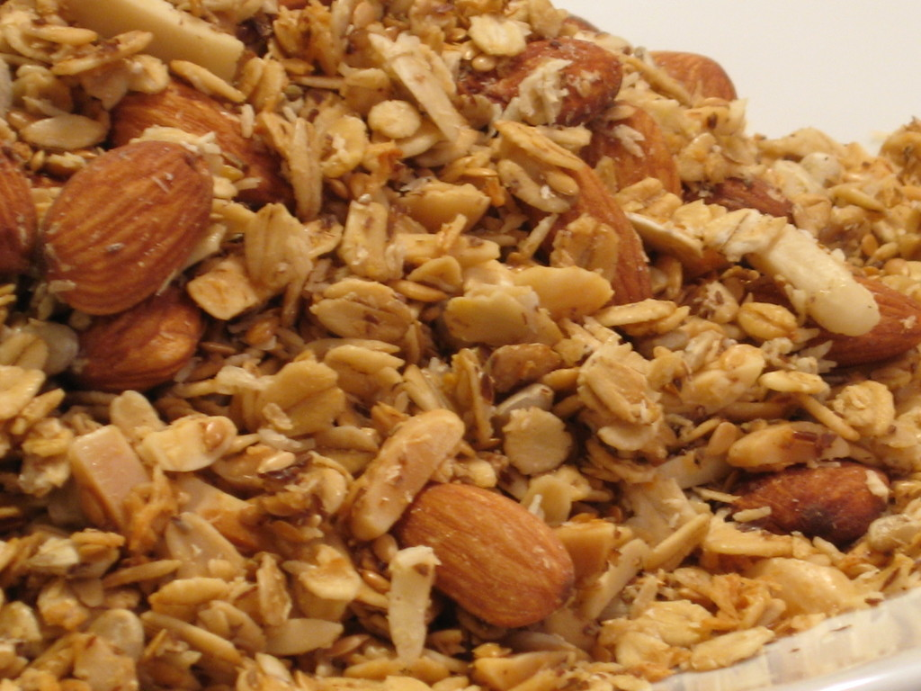 The Best of My Nest: Revamped My Granola Recipe -- WooHoo!