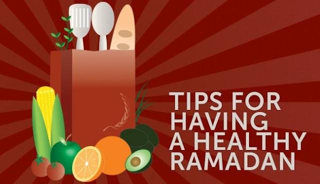 Tips makan sehat selama ramadhan