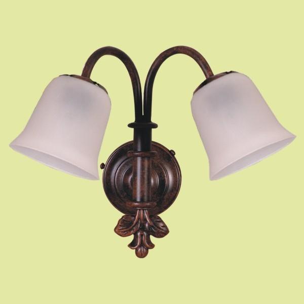Casa dolce casa luce e specchio bagno shabby chic - Specchio con lampade intorno ...