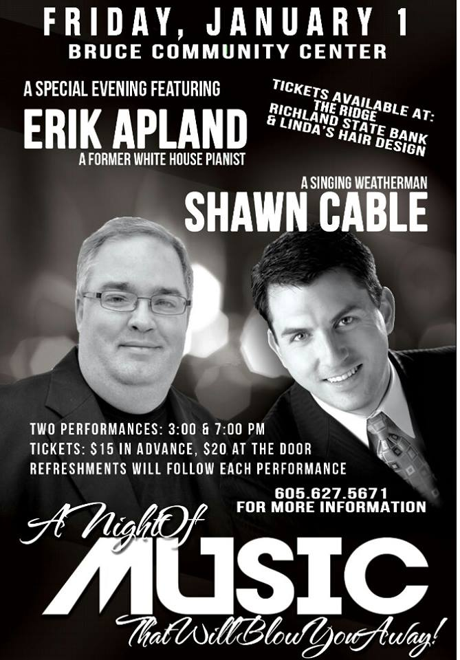 Apland/Cable concert!