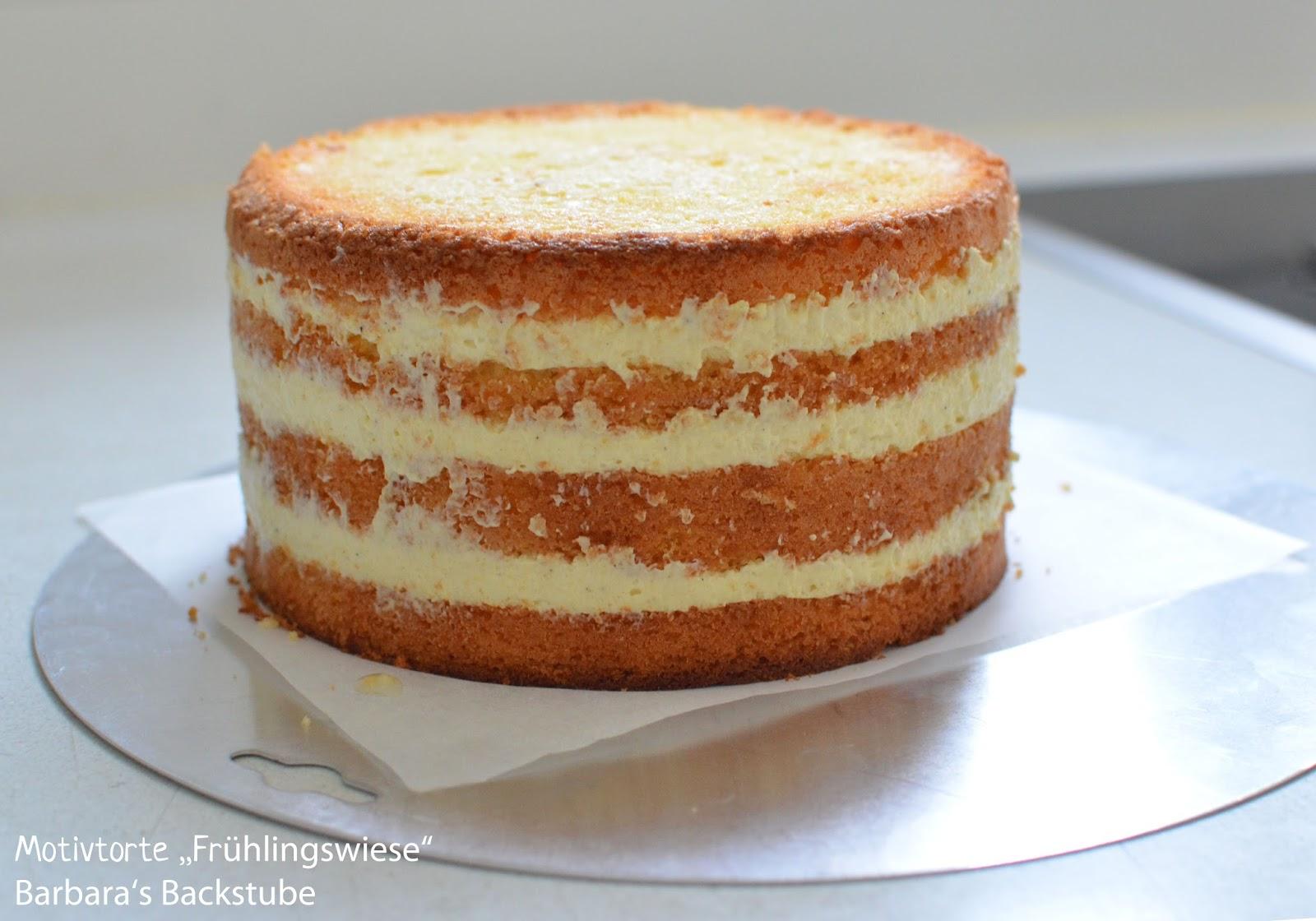 Barbara's backstube: wiesen torte (eierlikörkuchen mit limoncello ...