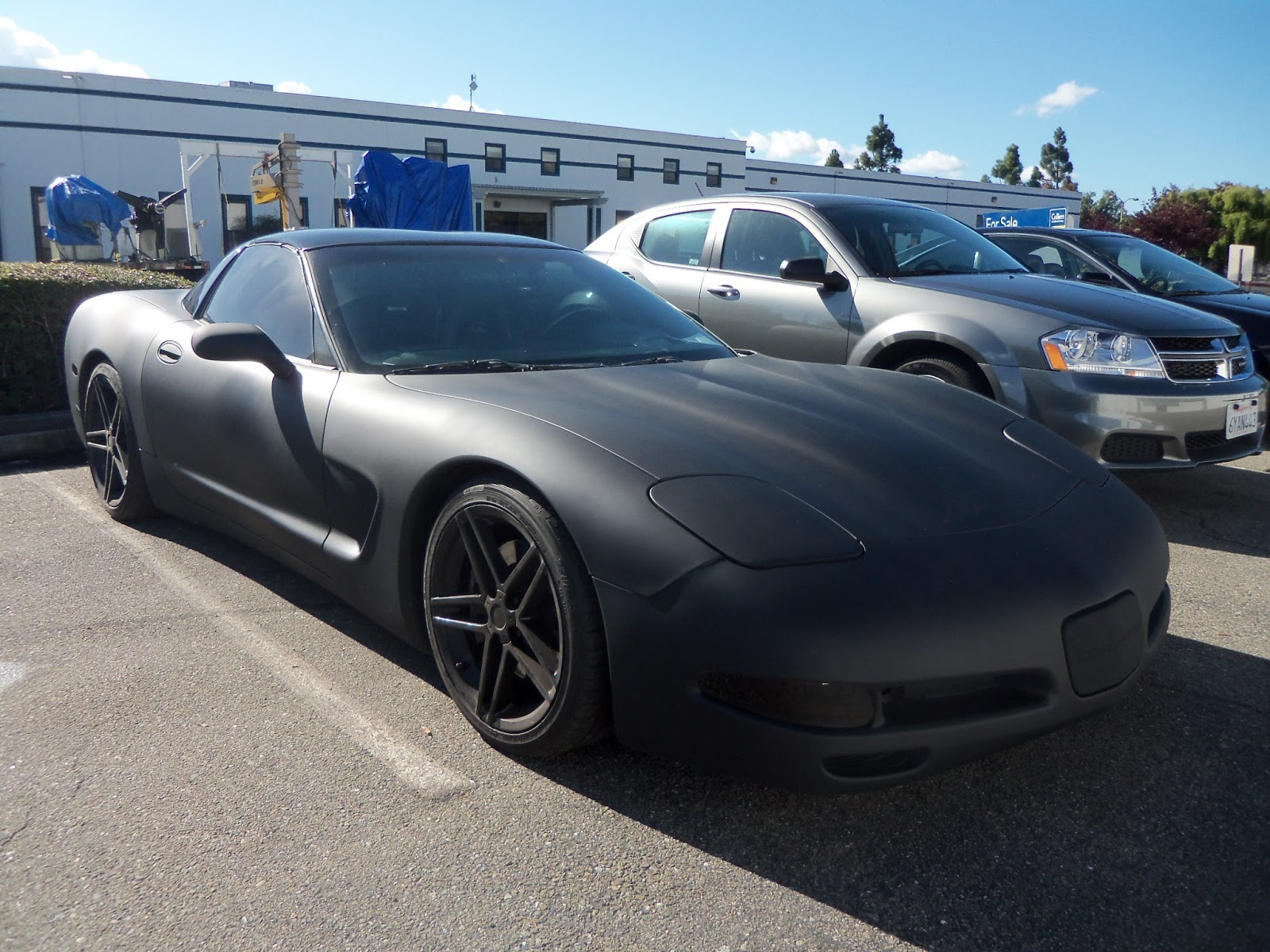 Auto body collision repair car paint in fremont hayward for Flat color paint jobs