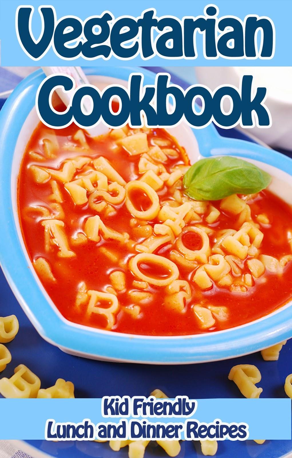 Vegetarian Cookbook Cover ~ Spaghetti braid